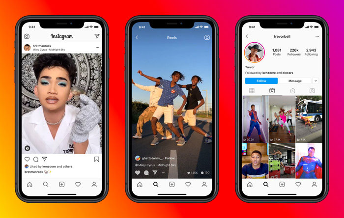 Instagram Reels Video Clip Example